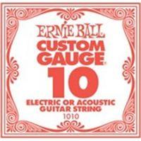 Immagine di Corda singola per chitarra acustica/elettrica 010 ERNIE BALL