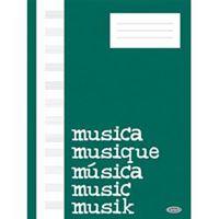 Picture of Quaderno di musica pentagrammato 32 pag. senza interlinea CARISCH