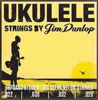 Picture of Muta di corde per ukulele soprano DUNLOP DUY201