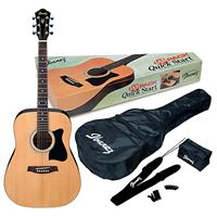 Picture of Chitarra acustica kit IBANEZ V50NJP naturale