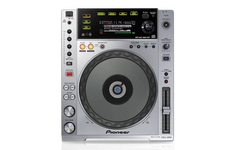 pioneer 850. picture of lettore cd pioneer cdj 850 silver