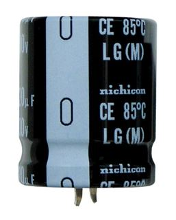 Picture of NICHICON LLG Snap-in electrolitic capacitor 2200uF 200V 45x40mm 85°C