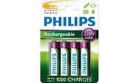 Picture of 4x Pile Ricaricabili Stilo AA 1.2V 2300mA Ni-MH Philips Multilife R6B4A230/10