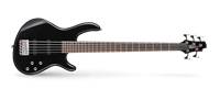 Picture of CORT ACTION BASS V PLUS BK Black basso elettrico 5 corde