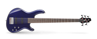 Picture of CORT ACTION BASS V PLUS BM Blue Metallic basso elettrico 5 corde