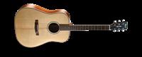 Immagine di CORT AS-E4 W/CASE NAT chitarra acustica
