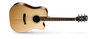 Picture of CORT AS-M5 W/CASE NAT chitarra acustica elettrificata