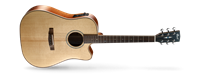 Picture of CORT AS-M4 W/CASE NAT chitarra acustica elettrificata