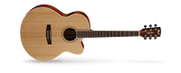 Picture of CORT CJ1F NS Natural Satin chitarra acustica elettrificata