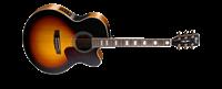 Picture of CORT CJ3V TAB Tobacco Burst chitarra acustica elettrificata