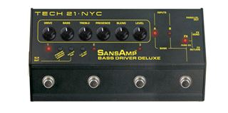 Picture of TECH 21 SANSAMP BASS DRIVER DELUXE preamplificatore per basso