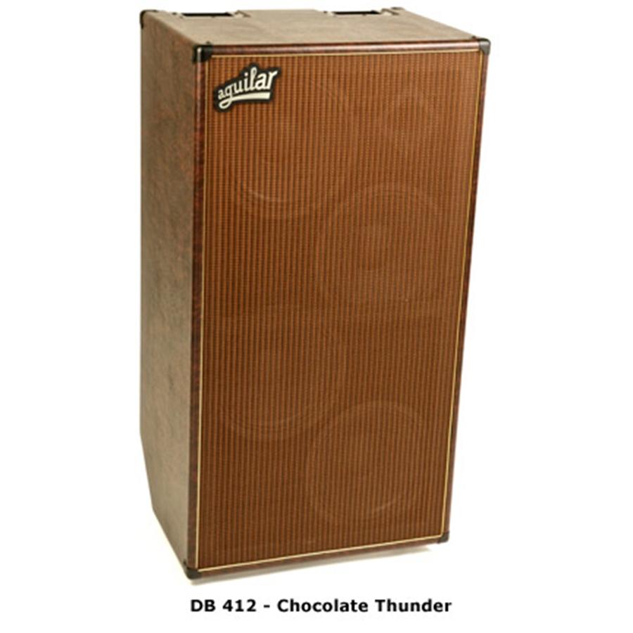 AGUILAR DB 412 chocolate thunder - 4 ohm - cassa per basso ...
