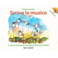 Picture of MORETTI : SCRIVO LA MUSICA LIBRO PRELIMINARE  ED. RICORDI