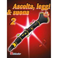 Picture of ASCOLTA, LEGGI E SUONA CLARINETTO VOL.2 + CD - DE HASKE