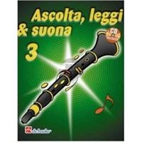 Picture of ASCOLTA, LEGGI E SUONA CLARINETTO VOL.3 + CD - DE HASKE