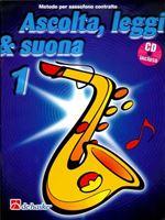 Picture of ASCOLTA, LEGGI E SUONA SASSOFONO CONTRALTO VOL.1 + CD - DE HASKE