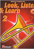Picture of LOOK, LISTEN & LEARN - METHOD FOR TROMBONE B.C. VOL.2 + CD - DE HASKE