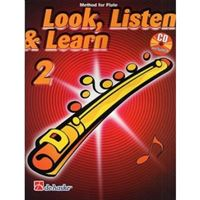 Picture of LOOK, LISTEN & LEARN - METHOD FOR FLUTE VOL.2 + CD - DE HASKE