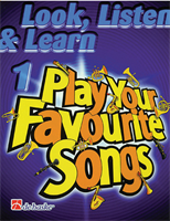 Picture of LOOK, LISTEN & LEARN - PLAY YOUR FEVOURITE SONGS FOR CLARINET VOL.1 - DE HASKE
