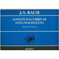 Picture of J.S. BACH - 24 PEZZI DAL LIBRO DI ANNA MAGDALENA - ED. BERBEN