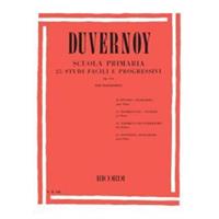 Immagine di DUVERNOY - SCUOLA PRIMARIA 25 STUDI FACILE E PROGRESSIVI OP. 176 - ED. RICORDI