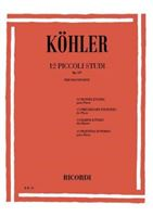 Picture of KOHLER - 12 PICCOLI STUDI OP. 157 - ED. RICORDI