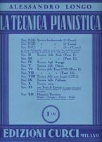 Picture of A. LONGO - LA TECNICA PIANISTICA FASC. 1 PARTE A - ED. CURCI