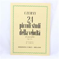 Immagine di CZERNY - 24 PICCOLI STUDI DELLA VELOCITA' OP. 636 - ED. CURCI