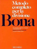 Immagine di BONA - METODO COMPLETO PER LA DIVISIONE - ED. RICORDI