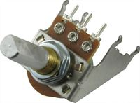 Picture of Fender 50K Potentiometer Audio A50K D Shaft Snap-In 16mm with bracket