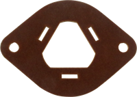 """Immagine di Isolamento in fenolica 3 Sezioni per condensatori serie FP Cap, 3,81mm (1.5"""") fori di montaggio"""