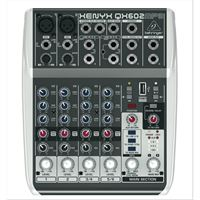 Picture of BEHRINGER Mixer XENYX QX602 MP3 con Multieffetto 6 canali