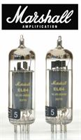 Picture of Marshall EL84 VLVE-00058 gold Label, PAAR