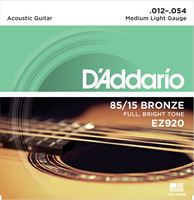 Immagine di D'ADDARIO EZ920 Medium Light Muta di corde per acustica