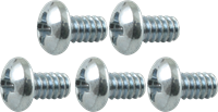 Picture of 4x Screw - 6/32, Phillips, Pan Head, Machine, Zinc