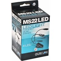 Picture of QUIKLOK MS22 Lampada per leggio 2 bracci da 2 led