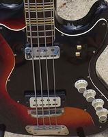 Picture of HOFNER GALAXIE 185-S Sunburst 1966 Bass