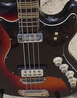 Picture of HOFNER GALAXIE 185-S Sunburst 1966 Bass