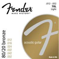 Picture of FENDER 70L Muta di corde per chitarra acustica 012 - 052