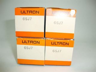 Picture of 6SJ7 ULTRON NOS Pentode Tube