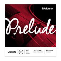 Immagine di D'Addario Prelude Violin Strings 4/4 Medium J810M MUTA DI CORDE PER VIOLINO