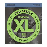 Immagine di D'ADDARIO EPS165 ProSteels Bass, Custom Light, 45-105, Long Scale