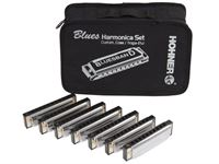 Picture of HOHNER Set 7 Armoniche Diatoniche Blues Band