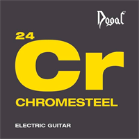 Immagine di DOGAL Chromesteel Round Wound RW126 009-046 MUTA DI CORDE CHITARRA ELETTRICA