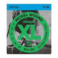 Picture of D'ADDARIO EXL130 Nickel Wound, Extra-Super Light, 8-38