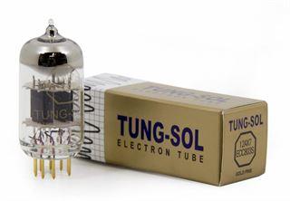 Immagine di Tung-Sol 12AX7 / ECC803S Gold-Pin Valvola selezionata