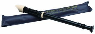 Immagine di ANGEL ASRB-101 - Flauto didattico soprano diteggiatura barocca