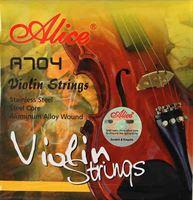 Immagine di ALICE A704 Muta di corde per violino serie LIUTERIA