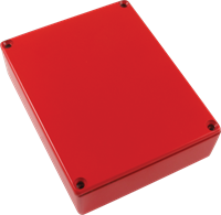 Picture of Chassis Box - Diecast Aluminum, Colored RED