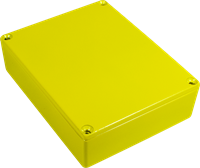 Picture of Chassis Box - Diecast Aluminum, Colored YELLOW